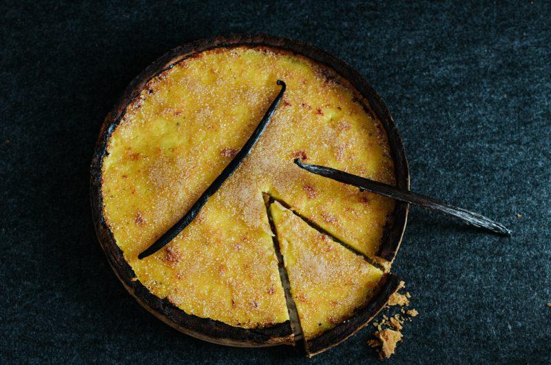 Tarte Crème Brûlée / Crème Brûlée Pie