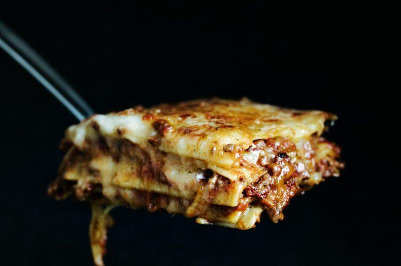 Lasagne sans gluten et sans lactose / Gluten-free, dairy-free lasagne