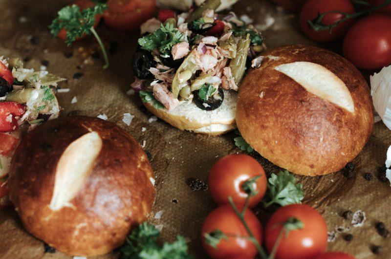 Petits pains Bretzels / Pretzels rolls