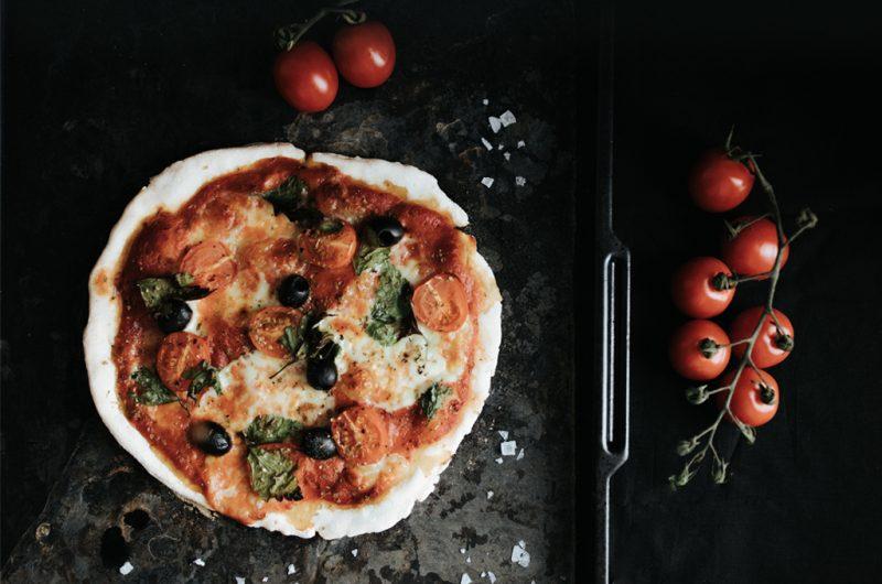 Pâte à pizza sans gluten ultra simple / 15 minutes Gluten-free pizza crust